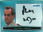 Doctor Who Big Screen -  A6 Philip Madoc as Brockley Trading Card -  10655